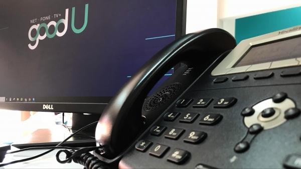 Cliente pessoa física e pessoa jurídica tem serviços de telefonia fixa goodU configurados para cada necessidade (Foto: Siga Mais).