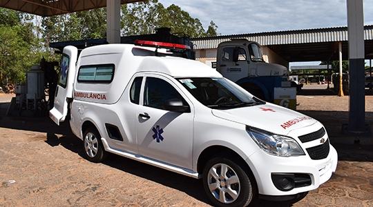 Ambulância chega para complementar frota da Secretaria da Saúde (Divulgação)