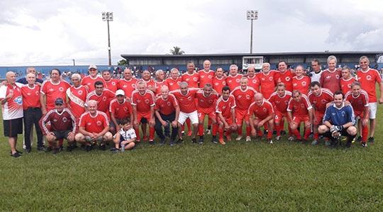 Objetivo da partida é a valorização dos ex-atletas que representaram o futebol profissional e amador da região (Da Assessoria).