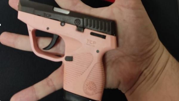 Arma de onde partiu o disparo (Divulgação/Polícia Civil).