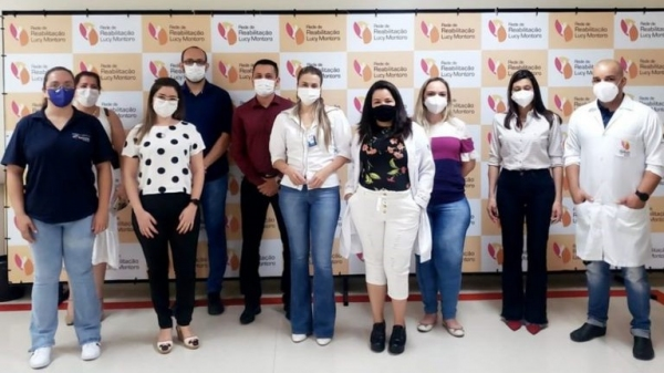 Uma das capacitações, com a presença do secretário municipal de saúde de Adamantina (Divulgação).