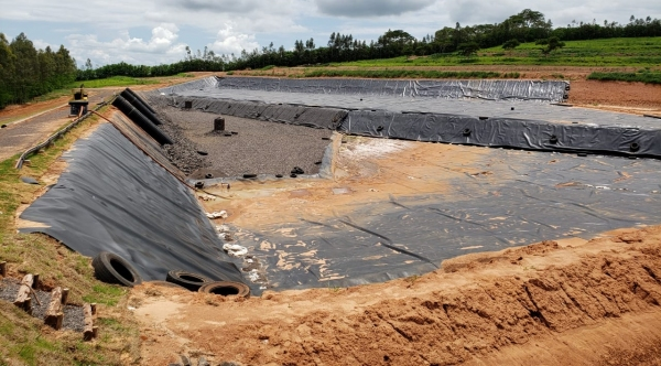 Aterro sanitário privado está localizado no bairro Aidelândia, zona rural de Adamantina (Cedida).
