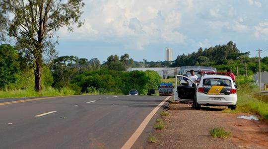 Efetivo da PM Rodoviário é mobilizado nos mais de 1.300 km de rodovias que atendem 56 cidades da região (Arquivo/Siga Mais).