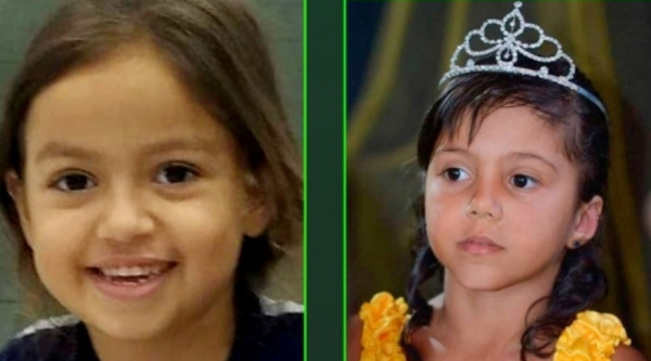 Emanuelly Ferreira Alves, de sete anos, e Maria Vitória Oliveira da Cruz, de cinco anos, morreram precocemente em decorrência de AVC  (Reprodução/Visão Notícias).