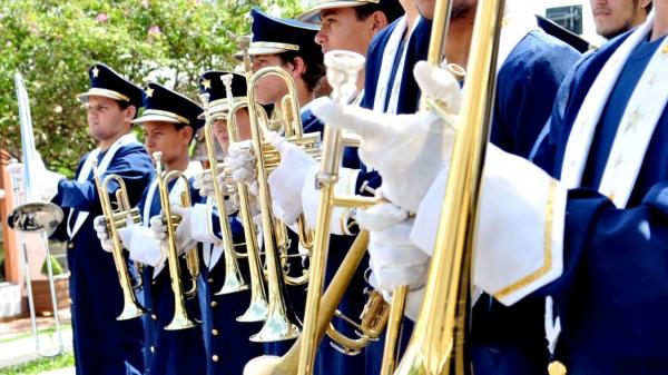 Banda Marcial de Adamantina (Divulgação).