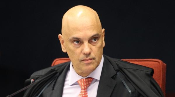 Ministro Alexandre de Moraes, no STF (Foto: Nelson Jr./SCO/STF)