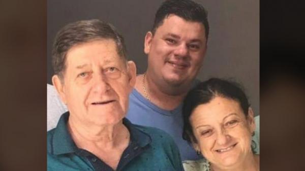 Acidente matou o empresário Sérgio Baravelli, a mulher Neuza e o filho Marcelo, causando comoção em Dracena (Reprodução).