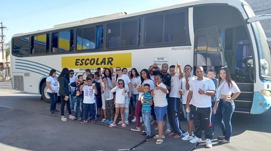 Grupo de Capoeira Estrela da Barra, de Adamantina, participa de evento em Bauru (Imagens: Acervo Pessoal).