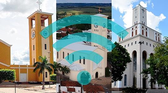 Clientes goodU terão acesso gratuito a wi-fi nas ruas de Flórida Paulista, Adamantina e Lucélia, em pontos que serão divulgados pela empresa. Novidade deve estar disponível em setembro (Arte: Siga Mais).