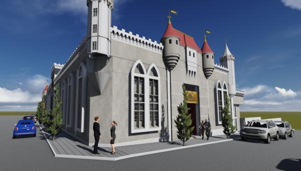 Castelo de Mareto vai se transformar no cenário perfeito para comemorações de aniversários, festas de 15 anos, casamentos, bodas, formaturas, baladas, shows e eventos (Imagens: Divulgação).