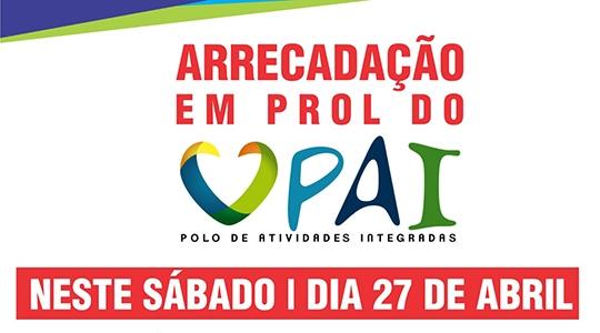 PAI Nosso Lar promove arrecadação de donativos neste sábado