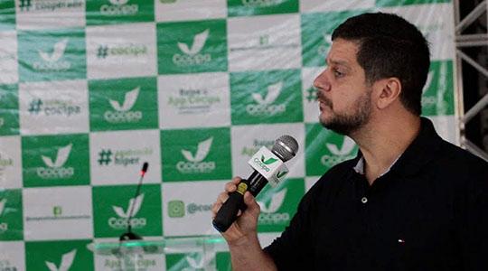 Rodrigo Pimentel dividiu com os colaboradores e diretores da Cocipa toda sua vivência no BOPE e os desafios de liderar e vencer (Imagens: Cedidas/Cocipa).