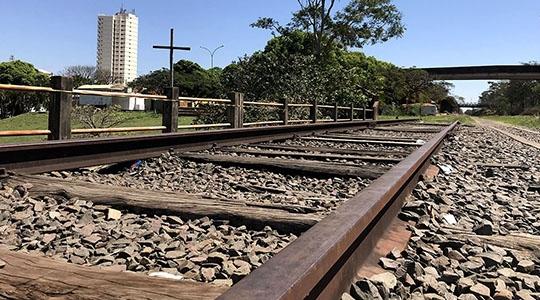 Trecho da Malha Paulista que passa por Adamantina pode ser reativado (Fotos: Siga Mais).