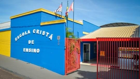 Escola Cristã de Ensino é referência regional em educação (Foto: Siga Mais).