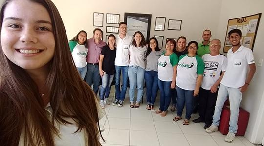 Equipe da Instituição Capaz de Adamantina (Foto: Da Assessoria).