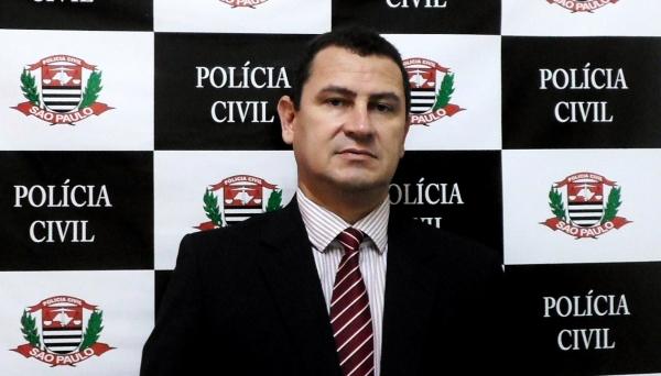 Carlos Roberto Vasconcelos, de 49 anos, é o novo Delegado Seccional de Polícia de Adamantina (Foto: Cedida).