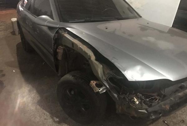Polícia chegou ao carro envolvido no acidente após rastrear peça do automóvel que foi encontrada no local da tragédia (Foto: Cedida/Polícia Civil).