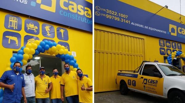 Casa do Construtor é inaugurada em Adamantina (Divulgação).