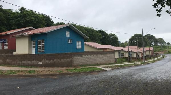 Obras das casas populares no Parque Itamarati, denominadas Adamantina O, estão em conformidade, garante a construtora (Foto: Siga Mais).