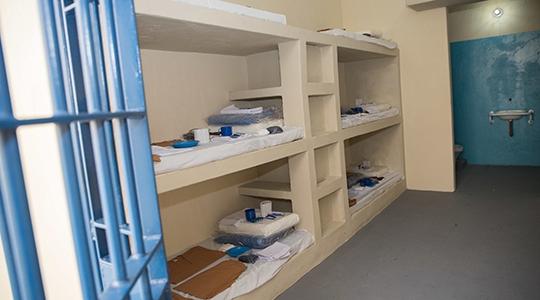 Centro de Detenção Provisória (CDP) de Pacaembu. Imagens divulgadas na inauguração da unidade prisional (Foto: Governo/SP).