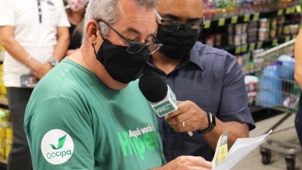 Sorteio público foi realizado na manhã deste sábado, no Hiper Cocipa, em Inúbia Paulista (Divulgação/Cocipa).