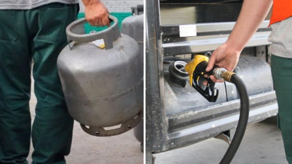Segundo Bolsonaro, medidas que zeram impostos federais no gás de cozinha e no diesel entram em vigor no dia 1º de março (Reprodução).