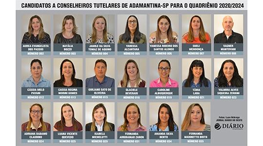 Votação aberta, pela comunidade, vai definir os novos membros do Conselho Tutelar de Adamantina (Fotos/Arte: Luan Nóbrega/Jornal Diário do Oeste).