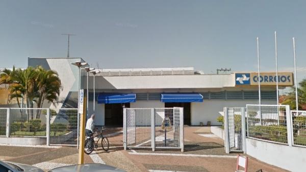 Agência dos Correios de Adamantina (Google Maps).