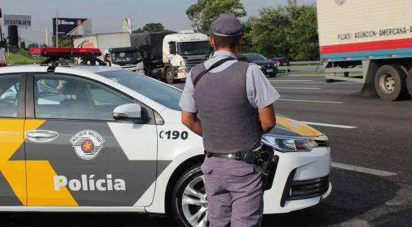 Efetivo policial mobilizado para feriadão conta com uma média diária de 1,8 mil homens e mulheres, em 620 viaturas e 126 bases operacionais fixas (Foto: Rodrigo Paneghine/SSP).