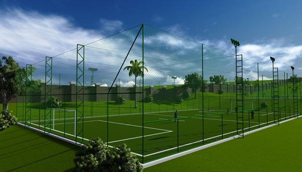 Perspectiva do projeto (Imagem enviada pela Prefeitura de Adamantina).