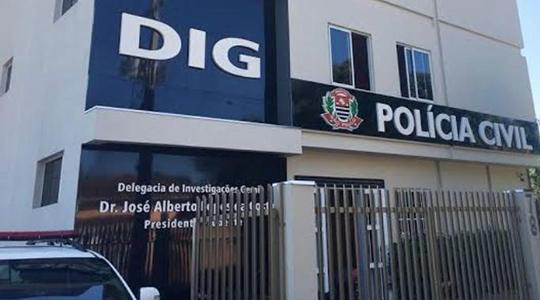 Caso é investigado pela DIG de Presidente Prudente (Foto: Cedida/Polícia Civil).