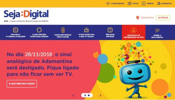 1/3 dos beneficiários ainda não retirou kit para conversão — TV Digital