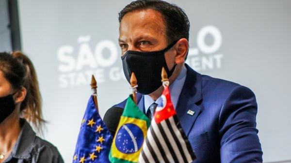 Governador João Dória volta atrás e suspende mudanças que atingem as alíquotas do ICMS (Foto: GovSP).