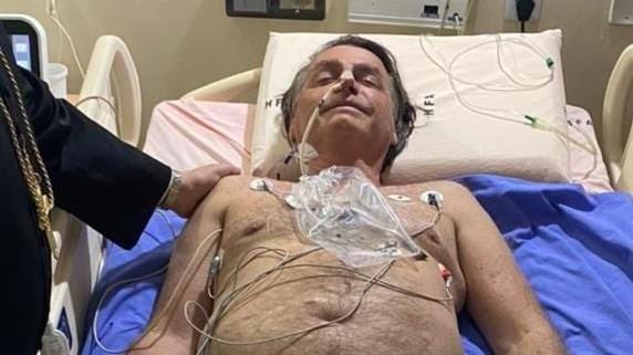 Foto publicada no perfil do presidente Bolsonaro, no Twitter (Reprodução).