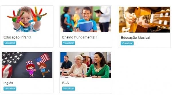 Software educacional on-line traz conteúdos e atividades curriculares do ensino infantil e fundamental, para estudantes da rede municipal de ensino de Adamantina (Da Assessoria).