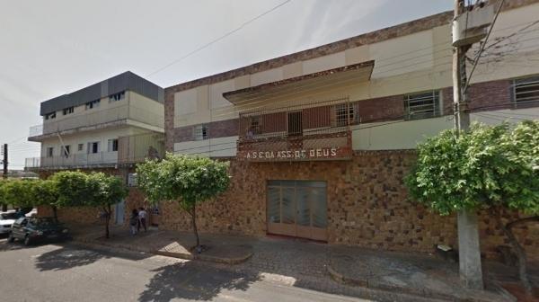 Casa Emanuel, em Tupã, onde ocorreu o surto de Covid-19 entre idosos e funcionários: 14 idosos morrem (Google).