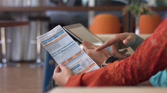 Clientes podem parcelar seus débitos com entrada facilitada e opções de parcelamento adequadas para a necessidade de cada consumidor (Da Assessoria).