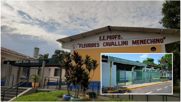 Escolas estaduais Fleurides e Grion (detalhe) são incluídas no Programa de Ensino Integral (PEI) a partir de 2022 (Ilustração).