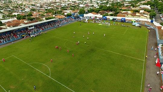Em 2019, o torneio será disputado no estádio Municipal Antônio Goulart Marmo (Cedida).