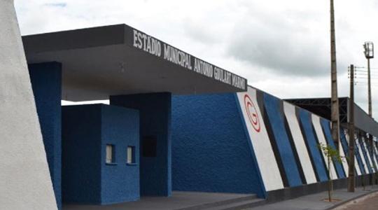 Jogos do Campeonato Amador Varzeano de Futebol de Campo de Adamantina acontecem no Estádio Municipal Antônio Goulart Marmo (Foto: Siga Mais).
