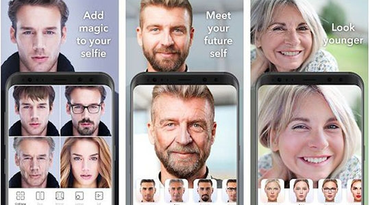 Especialistas alertam sobre riscos à exposição de dados dos usuários, na utilização do aplicativo (Reprodução FACE App/Direitos Reservados).