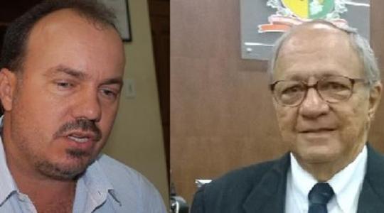 Prefeito de Osvaldo Cruz, Edmar Mazucato (PSDB), e o vereador Roberto Pazotto (PP), protagonizam nova polêmica (Reprodução/OCNET).