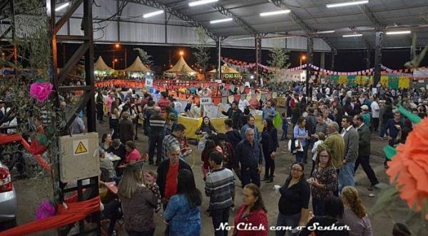 Festa tradicional no calendário da cidade acontece dia 6 de junho, no recinto poliesportivo (Foto: Acervo/No Click com o Senhor).