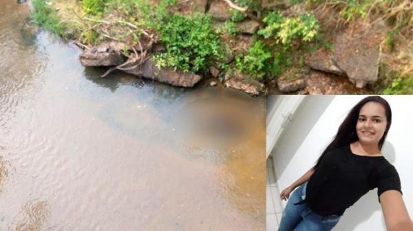 Corpo de Jéssica Cardoso foi encontrado no dia 9 deste mês nas águas do córrego Jureminha, divisa entre Iacri e Rinópolis, próximo à Rodovia Assis Châteaubriant (Fotos: João Mário Trentini e Redes Sociais).