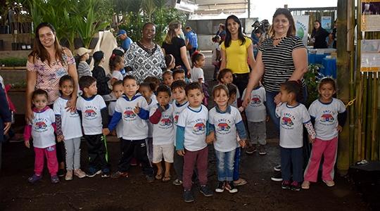 EMEI Ciclo I Cantinho da Criança de Adamantina marca presença na ExpoVerde 2019  (Foto: Da Assessoria).