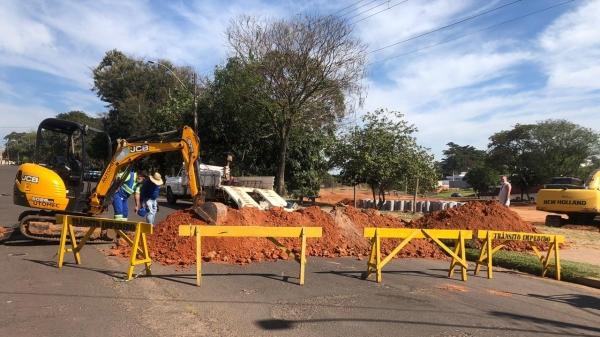 Ação objetiva impedir que a água da chuva adentre o parque causando erosões (Divulgação/PMA).