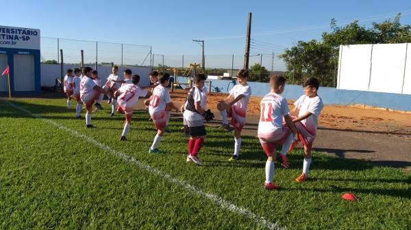 Projeto criado em 2017 atende atletas de 7 a 23 anos de idade (Divulgação).