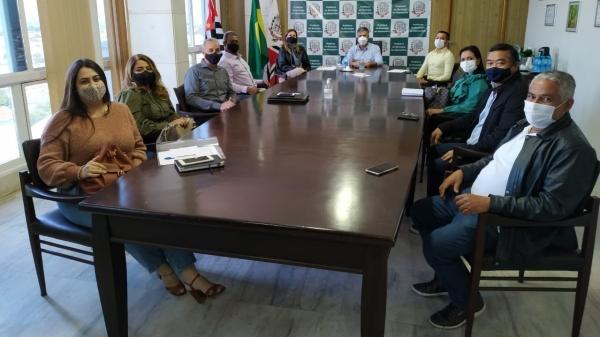 Mariápolis, Pracinha e Sagres participam de reunião com Adamantina sobre a integralização e regionalização da saúde (Da Assessoria).
