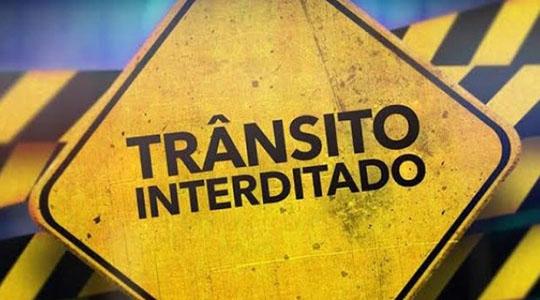 Trânsito fica interditado nesta sexta-feira no acesso Rio Branco – Campus II