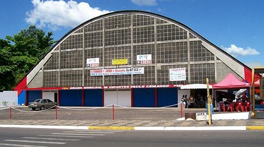 Ginásio Municipal de Esportes de Adamantina recebe as modalidades de basquete, vôlei, futsal, handebol, dama, tênis de mesa e xadrez (Ilustração).